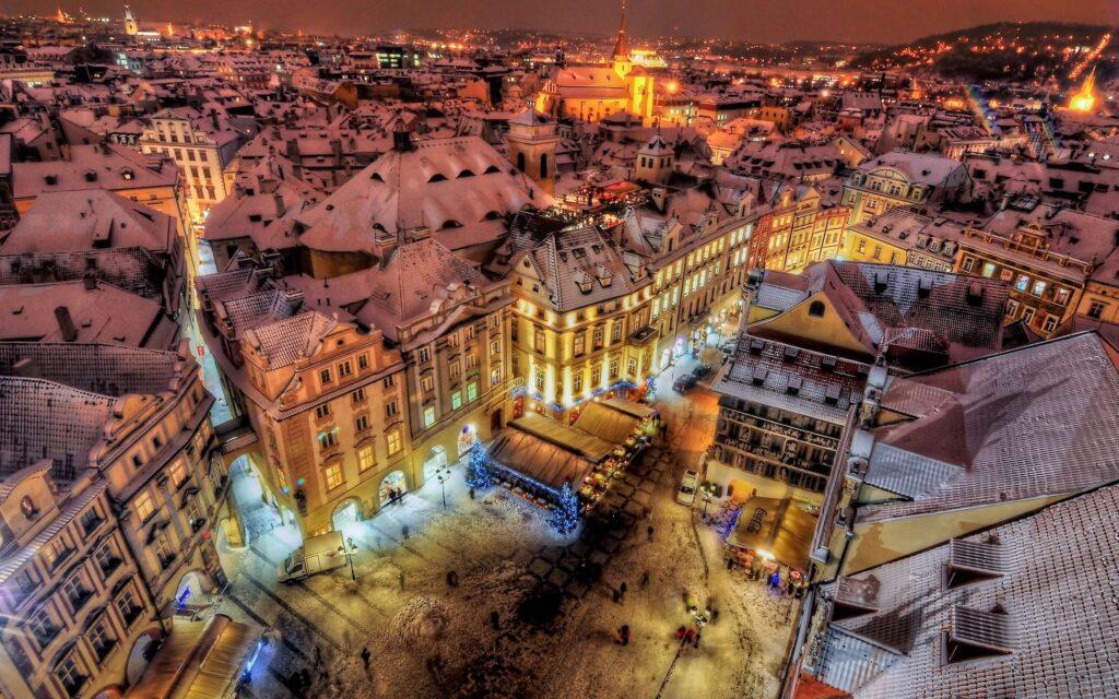 Прага, Чехия, отдых зимой в Европе