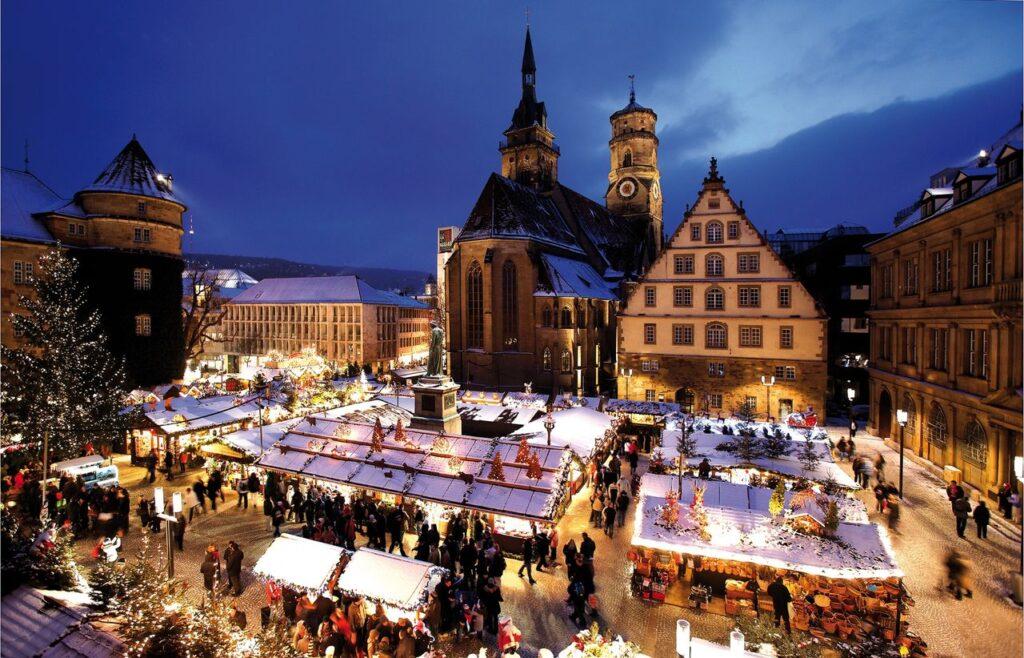 Мюнхен, Германия, Мюнхенская ярмарка, отдых зимой в Европе
