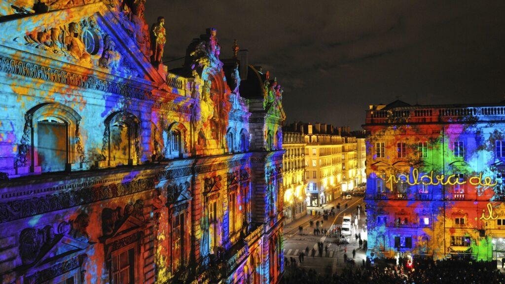 Лион, Франция, фестиваль света, отдых зимой в Европе