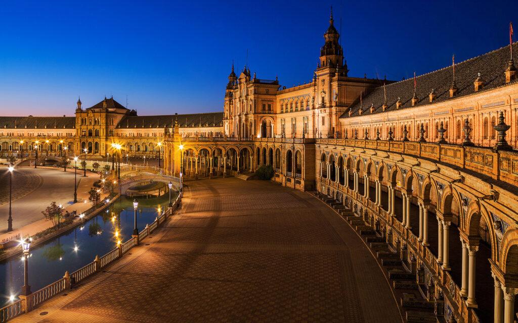 Севилья, Испания, отдых зимой в Европе