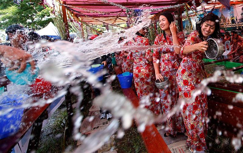 Новый год в тайланде Сонкранг