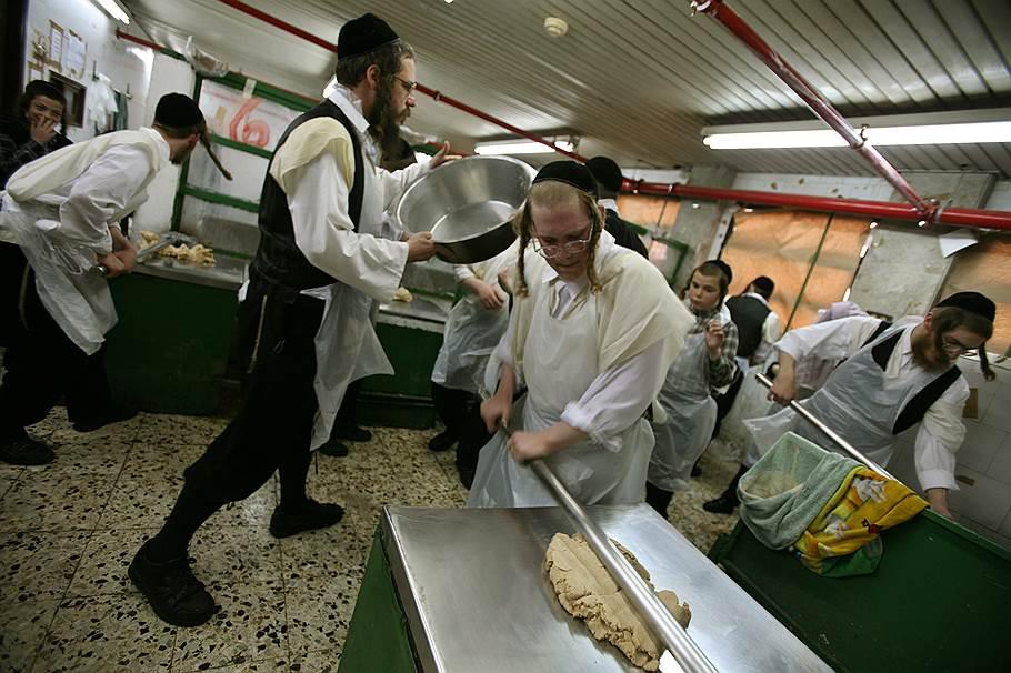 Израиль, кошерная еда, евреи, приготовление хлеба