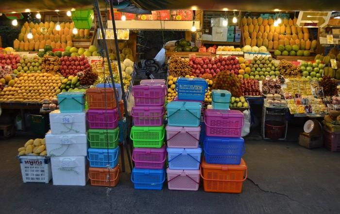 Как вывести фрукты из таиланда. Корзина