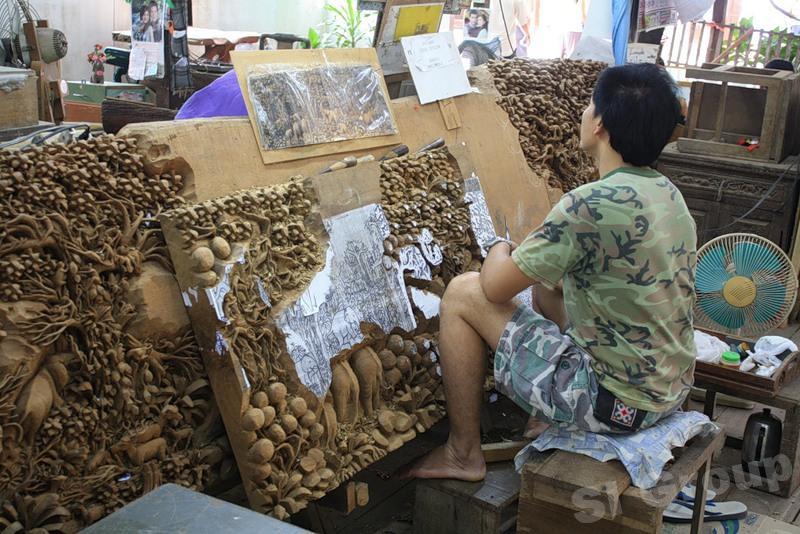 Тиковая фабрика подарки из тайланда