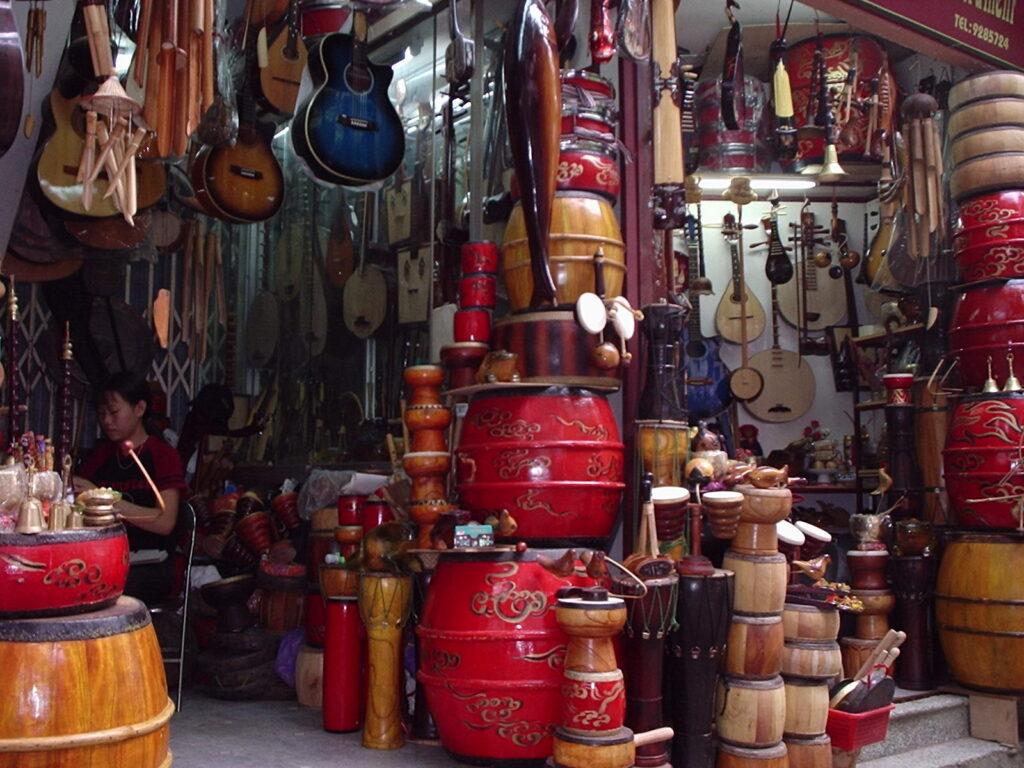 Тайские музыкальные инструменты в подарок