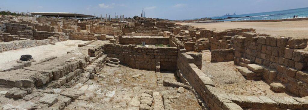 Старый город кесария