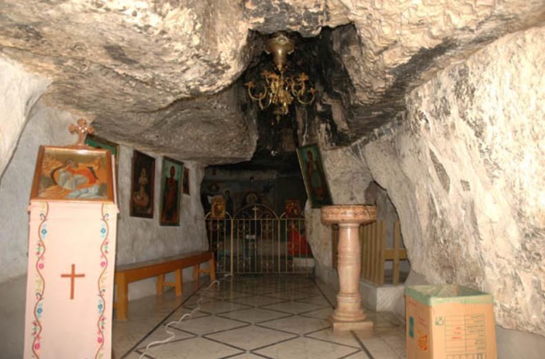 пещеру пророка Ильи