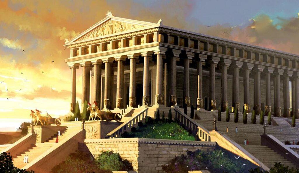 храм артемиды семь чудес света