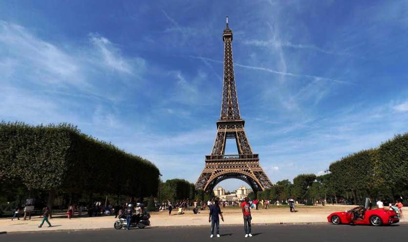Eifelturm Эйфелева башня Франция