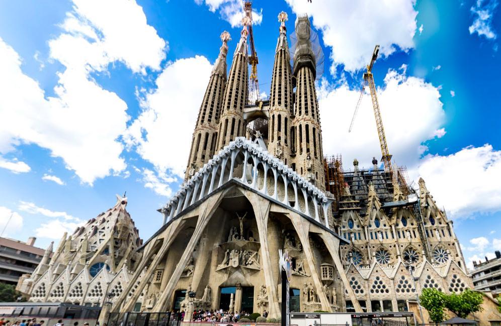 La Sagrada Familia Собор святого семейства