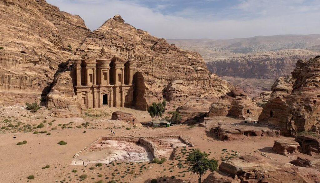 Overlooking the Monastery