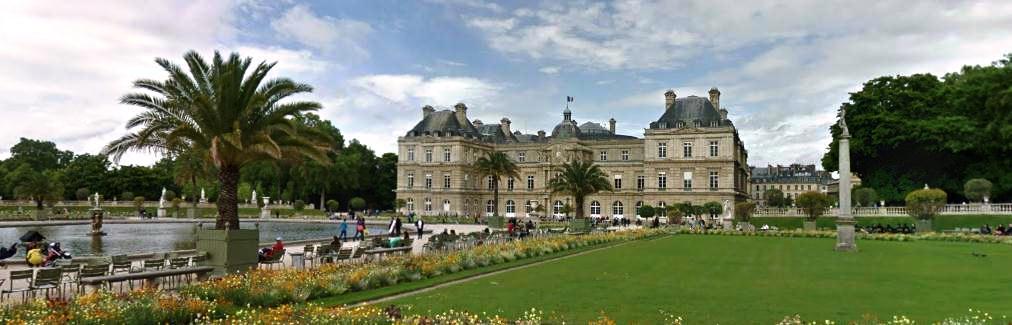 Palais du Luxembourg Люксимбурский Сад Париж
