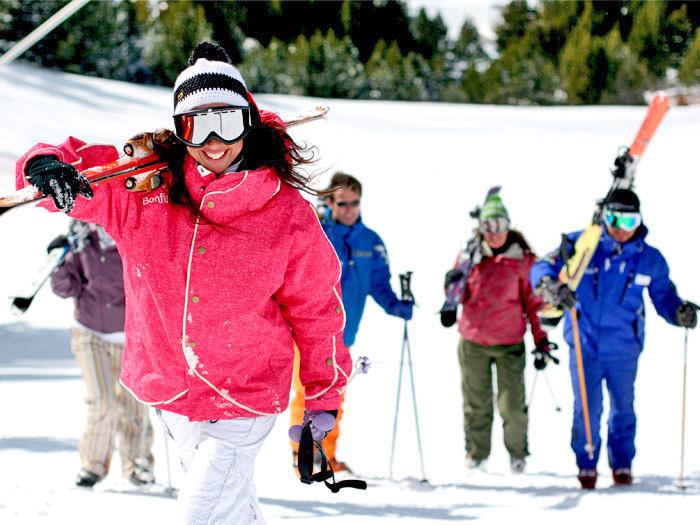 Андорра горнолыжный курорт