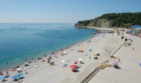 Туапсе, Россия, отдых, курорт, достопримечательности, пляжный отдых в Туапсе, центральный пляж