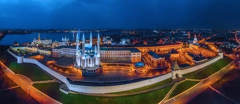 Казань, Россия, Республика Татарстан, достопримечательности