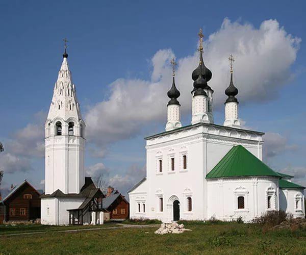 Суздаль, Россия, достопримечательности, Александровский монастырь