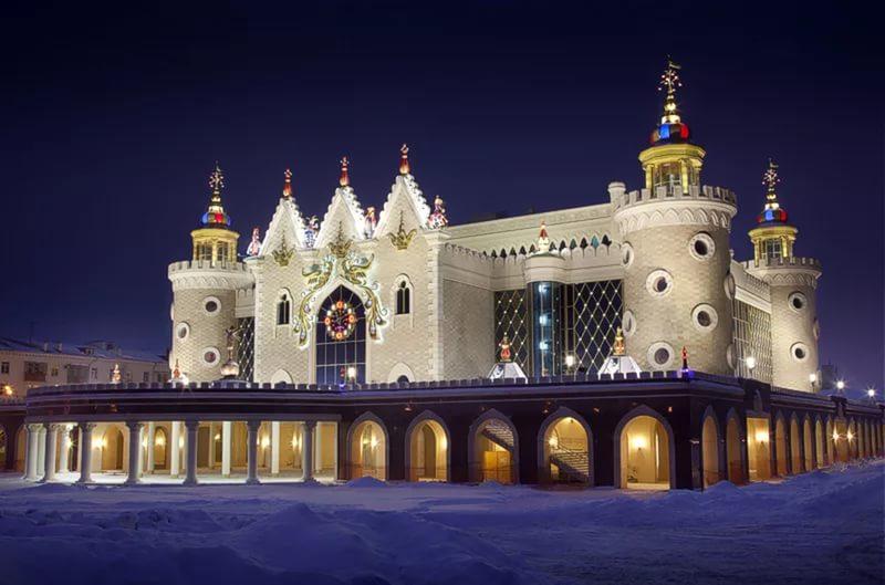 Казань, Россия, Республика Татарстан, достопримечательности, театр кукол Экият