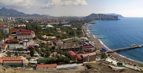 Судак, полуостров Крым, Россия, достопримечательности, отдых в Судаке