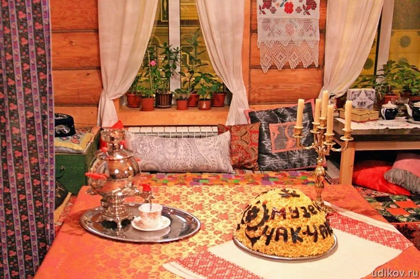 Казань, Россия, Республика Татарстан, достопримечательности, музей Чак -чака