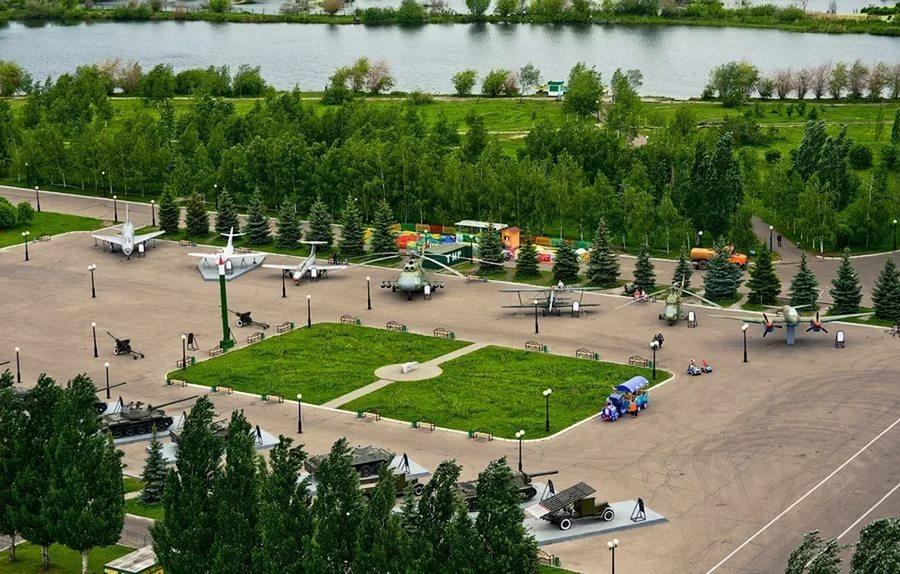 Казань, Россия, Республика Татарстан, достопримечательности, парк Победы