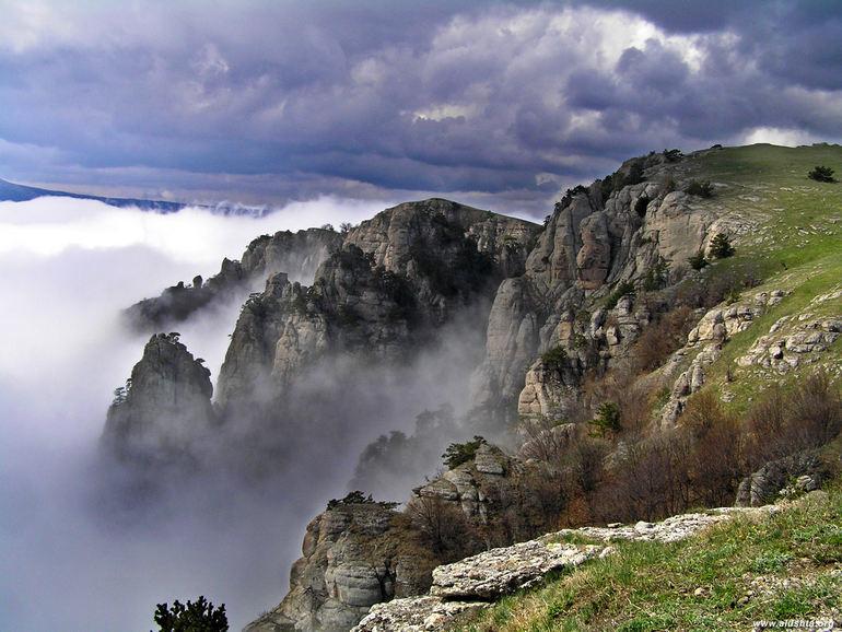 Полуостров Крым. Россия, достопримечательности, отдых в Крыму, долина привидений