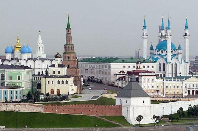Казань, Россия, Республика Татарстан, достопримечательности, Казанский Кремль