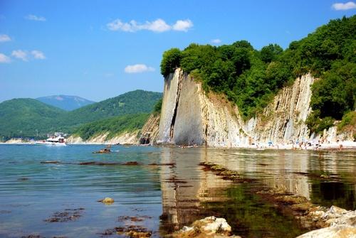 Туапсе, Россия, отдых, курорт, достопримечательности, пляжный отдых в Туапсе, скала Киселева
