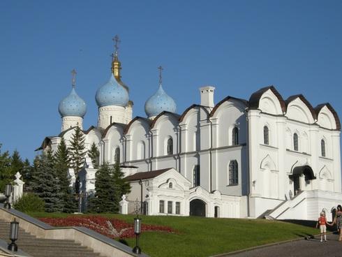 Казань, Россия, Республика Татарстан, достопримечательности, Благовещенский Собор