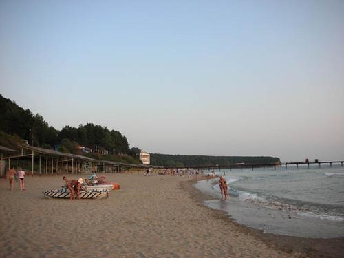 Туапсе, Россия, отдых, курорт, достопримечательности, пляжный отдых в Туапсе, пляж детского центра Орленок