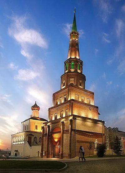 Казань, Россия, Республика Татарстан, достопримечательности, башня Сююмбике