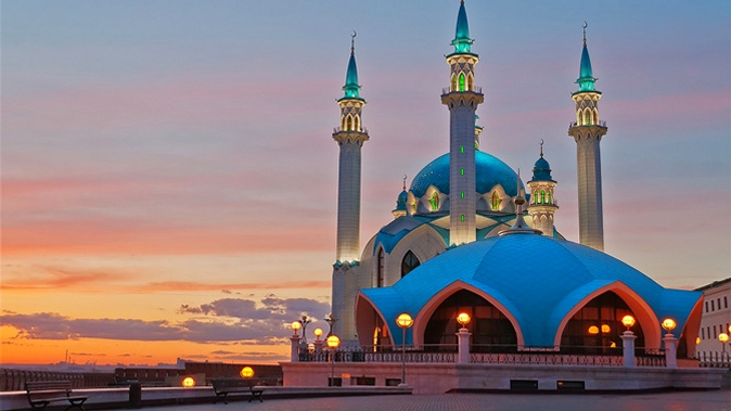 Казань, Россия, Республика Татарстан, достопримечательности, мечеть Кул Шариф