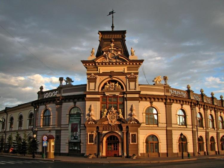 Казань, Россия, Республика Татарстан, достопримечательности, Национальный музей