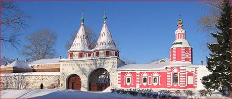 Суздаль, Россия, достопримечательности, Суздальский Ризоположенский монастырь