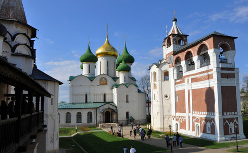 Суздаль, Россия, достопримечательности, Суздальский Спасо Евфимиев монастырь