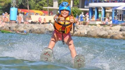 Анапа, курорты России, отдых в Анапе, достопримечательности Анапы, развлечения для детей в Анапе, воднолыжный стадион Море Удовольствия