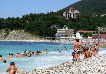 Туапсе, Россия, отдых, курорт, достопримечательности, пляжный отдых в Туапсе, пляж Весна