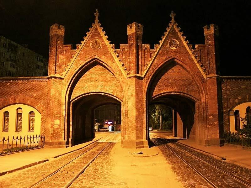 Калининград, Кёнигсберг, достопримечательности, история города, куда сходить в Калининграде, Бранденбургские ворота