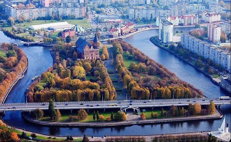 Калининград, Кёнигсберг, достопримечательности, история города, куда сходить в Калининграде