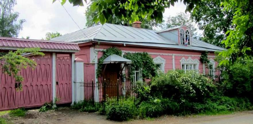 Дом Павла Александровича Флоренского Сергиев Посад
