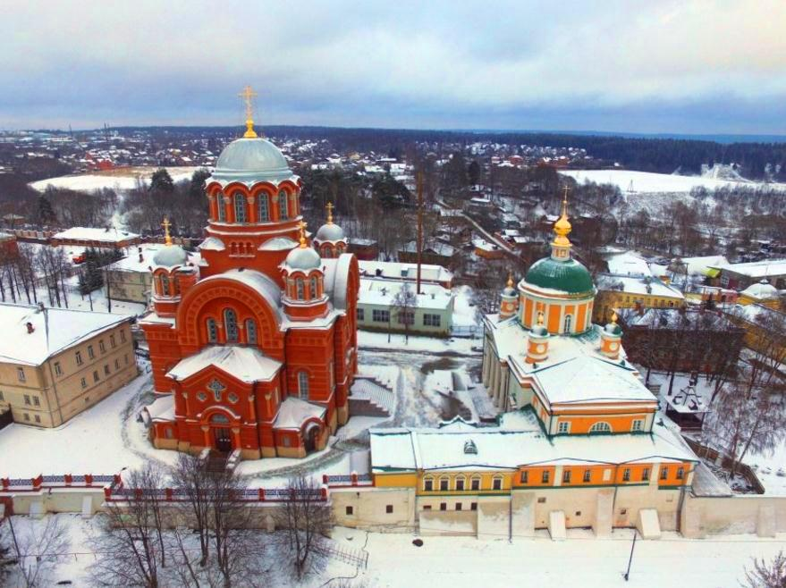 Покровский Хотьков монастырь Сергиев Посад