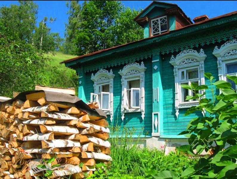 Русский дом город Плес