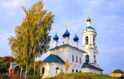 Варваринская церковь (Церковь святой Варвары) город Плес