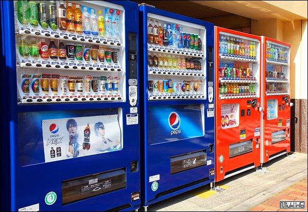 Торговые автоматы японии