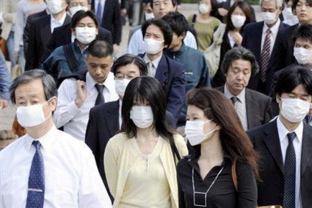япония маски