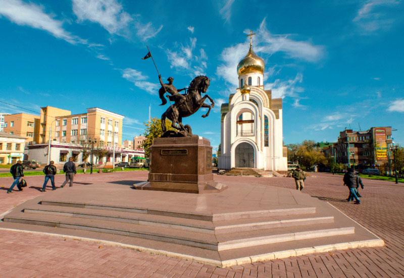 Площадь Победы Иваново