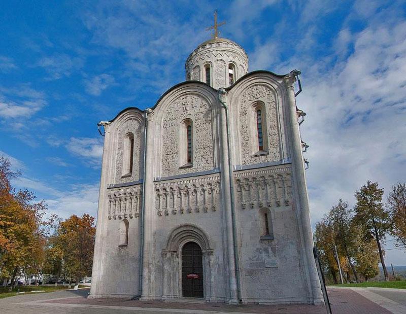 Дмитровский собор город Владимир