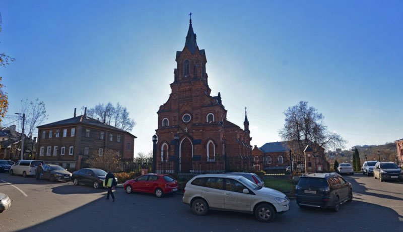 Храм (Костел) Святого Розария, город Владимир