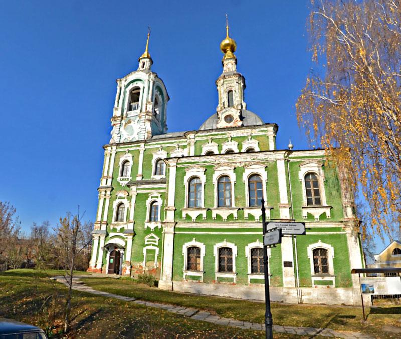 Никитская (Предтеченская) церковь, город Владимир