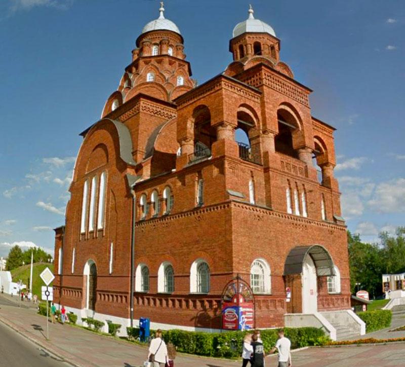 Троицкая церковь, Музей хрусталя город Владимир