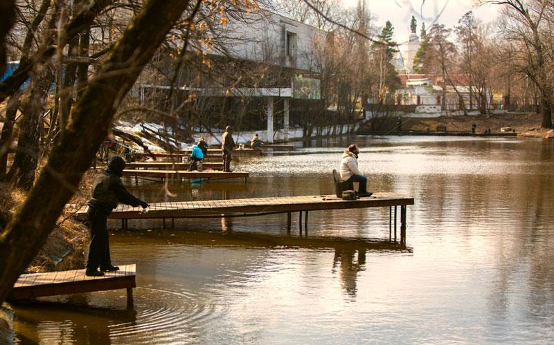 ВДНХ рыбацкая деревня, рыбалка на ВДНХ